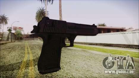 PayDay 2 Deagle für GTA San Andreas dritten Screenshot