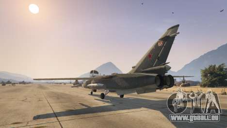 GTA 5 SU-24M dritten Screenshot