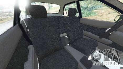 Toyota Corolla 1.6 XEI [black edition] v1.02 pour GTA 5