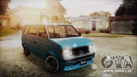 GTA 5 Declasse Moonbeam No Interior für GTA San Andreas