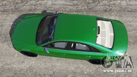 GTA 5 Audi S8 Quattro 2013 Rückansicht
