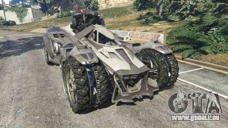 Batmobile Mk2 v0.9 für GTA 5