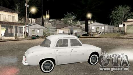 Willys-Overland Gordini III 1966 - Beta pour GTA San Andreas laissé vue