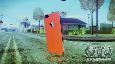 iPhone 5 Red für GTA San Andreas zweiten Screenshot
