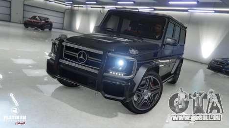 Mercedes-Benz G63 AMG v1 pour GTA 5