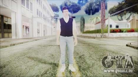 Skin GTA Online Bussines 3 für GTA San Andreas zweiten Screenshot