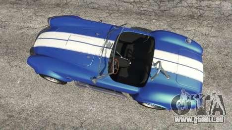 GTA 5 AC Cobra v1.3 vue arrière