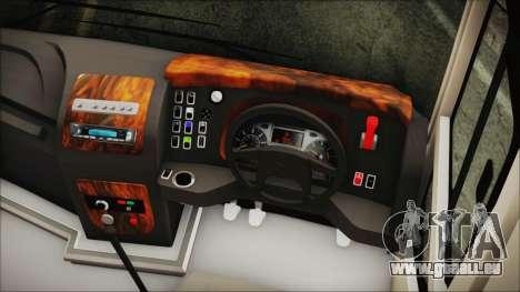 Starbus 34XM für GTA San Andreas rechten Ansicht