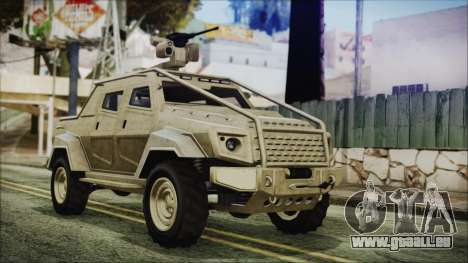 GTA 5 HVY Insurgent Pick-Up für GTA San Andreas