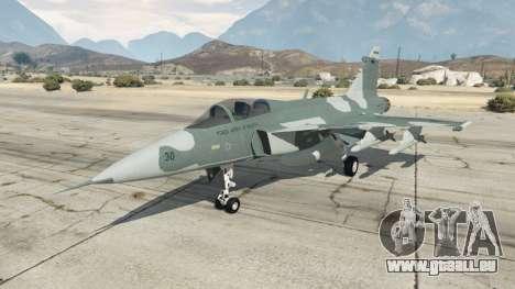 Saab JAS 39 Gripen NG FAB [Beta] pour GTA 5