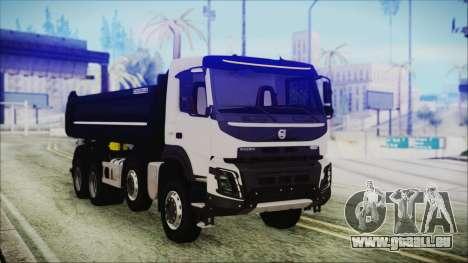 Volvo FMX Euro 6 pour GTA San Andreas