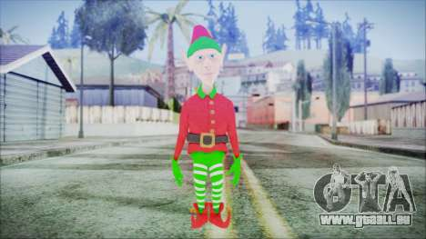 Christmas Elf v1 pour GTA San Andreas deuxième écran