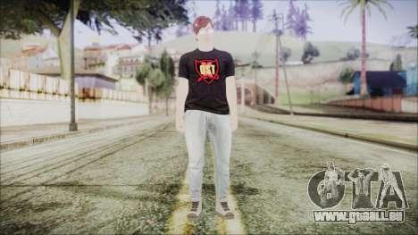 GTA Online Skin 43 pour GTA San Andreas deuxième écran