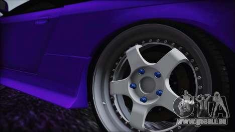 Nissan Silvia S14 Zenki BN Sports pour GTA San Andreas sur la vue arrière gauche