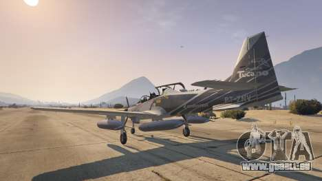 GTA 5 Embraer A-29B Super Tucano House quatrième capture d'écran
