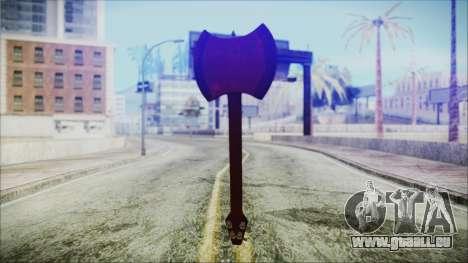 Ax Bass HD from Adventure Time für GTA San Andreas dritten Screenshot
