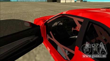 Nissan Skyline R34 Drift Red Star für GTA San Andreas Innenansicht