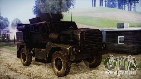 Cougar MRAP 4x4 pour GTA San Andreas