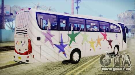 Starbus 34XM für GTA San Andreas linke Ansicht