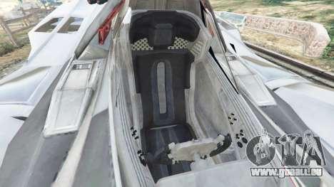 GTA 5 Batmobile Mk2 v0.9 rechte Seitenansicht