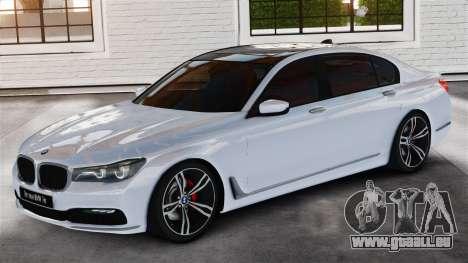 BMW 7-er 2016 v2.0 für GTA 4