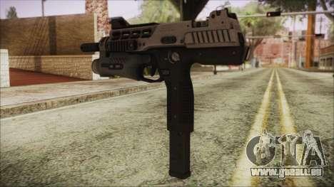 MP-970 pour GTA San Andreas deuxième écran