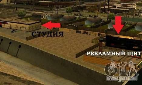 Monster Beats Studio by 7 Pack für GTA San Andreas sechsten Screenshot
