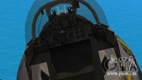 McDonnell Douglas F-4N Hellenic Air Force für GTA San Andreas Rückansicht