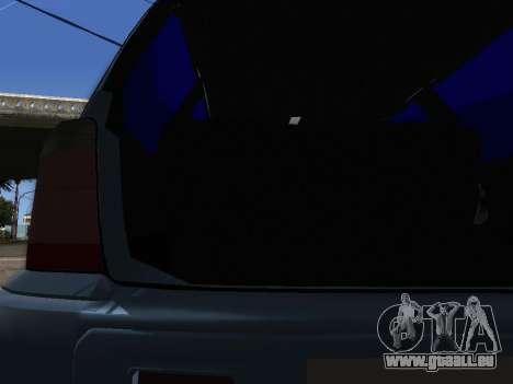 Subaru Forester 1998 pour GTA San Andreas vue de côté