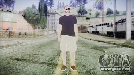 GTA Online Skin 4 pour GTA San Andreas deuxième écran