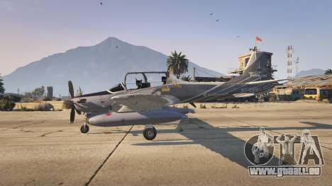 GTA 5 Embraer A-29B Super Tucano House dritten Screenshot