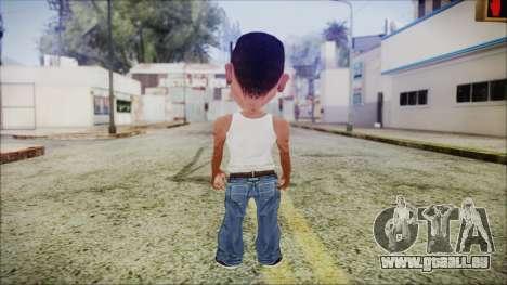 Mini CJ pour GTA San Andreas troisième écran