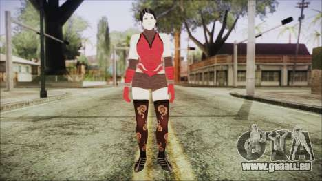 Tekken Tag Tournament 2 Zafina Dress v2 für GTA San Andreas zweiten Screenshot