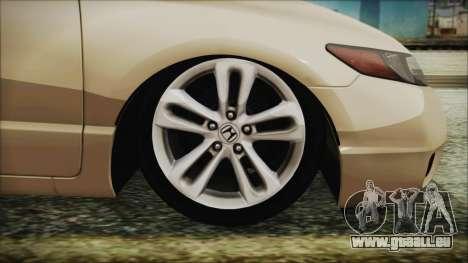 Honda Civic für GTA San Andreas zurück linke Ansicht
