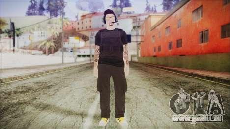 GTA Online Skin 19 pour GTA San Andreas deuxième écran