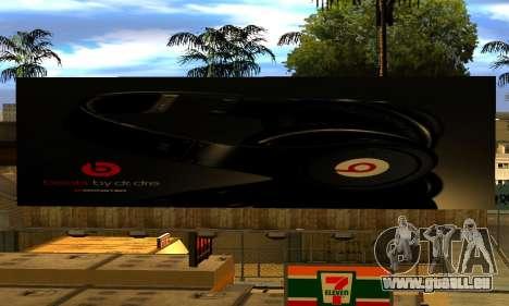 Monster Beats Studio by 7 Pack pour GTA San Andreas quatrième écran