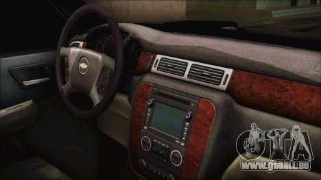 Chevrolet Silverado Triple Door für GTA San Andreas rechten Ansicht