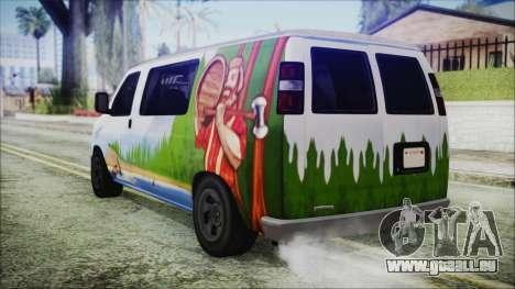 GTA 5 Bravado Paradise Lumberjack Artwork für GTA San Andreas linke Ansicht