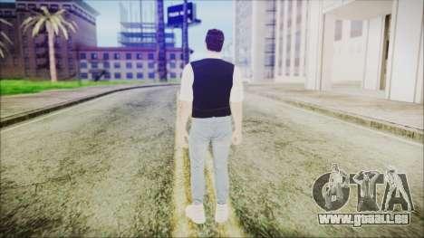 Skin GTA Online Bussines 3 für GTA San Andreas dritten Screenshot