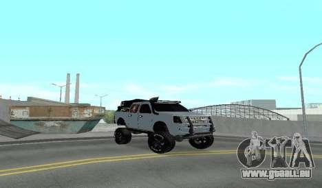 Chevrolet Luv D-MAX 2015 OFF-ROAD-GELÄNDE für GTA San Andreas