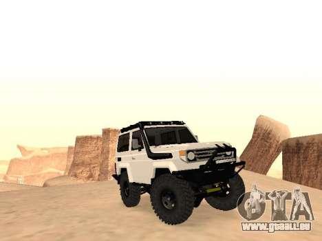 Toyota Machito Off-Road (IVF) 2009 für GTA San Andreas