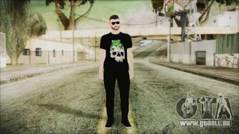 GTA Online Skin 24 pour GTA San Andreas deuxième écran