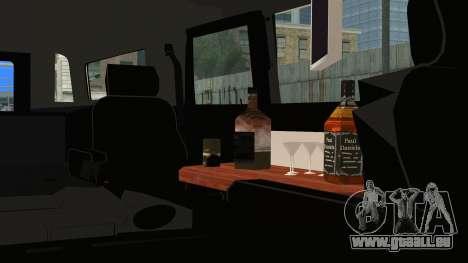 Hummer H1 Limo 6x6 pour GTA San Andreas vue de droite