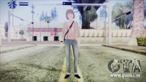Life is Strange Episode 1 Max für GTA San Andreas zweiten Screenshot