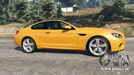 BMW M6 2013 pour GTA 5