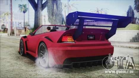 Benefactor Feltzer Super Sport für GTA San Andreas linke Ansicht