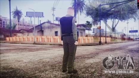 GTA 5 Ammu-Nation Seller 2 pour GTA San Andreas troisième écran