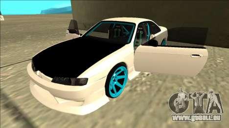 Nissan Silvia S14 Drift für GTA San Andreas Innen
