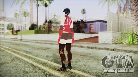 Tekken Tag Tournament 2 Zafina Dress v2 für GTA San Andreas dritten Screenshot