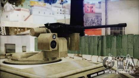 GTA 5 HVY Insurgent Pick-Up für GTA San Andreas rechten Ansicht